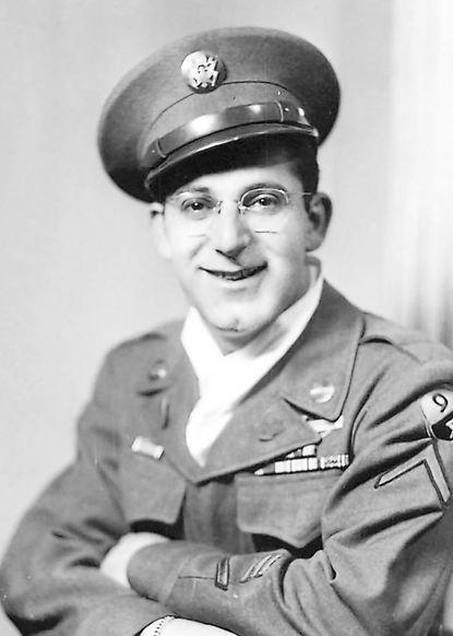 Milton Bromberg, tailor and veteran