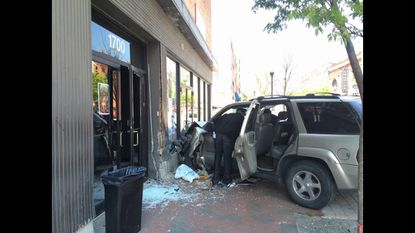 Car crashes into Metro Gallery, tonight's show canceled