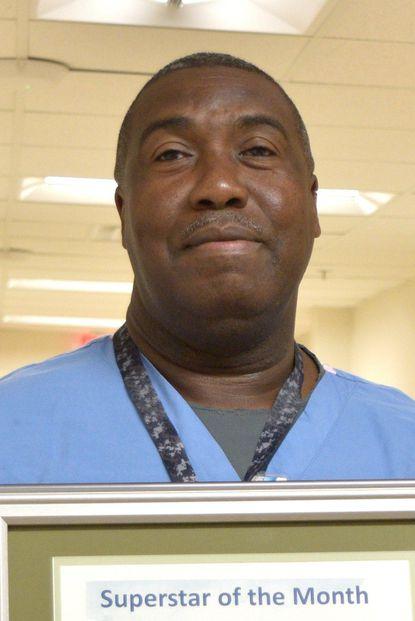 Carroll Hospital's September SuperStar of the Month, Herbert Johnson Jr. - Original Credit: Courtesy Photo