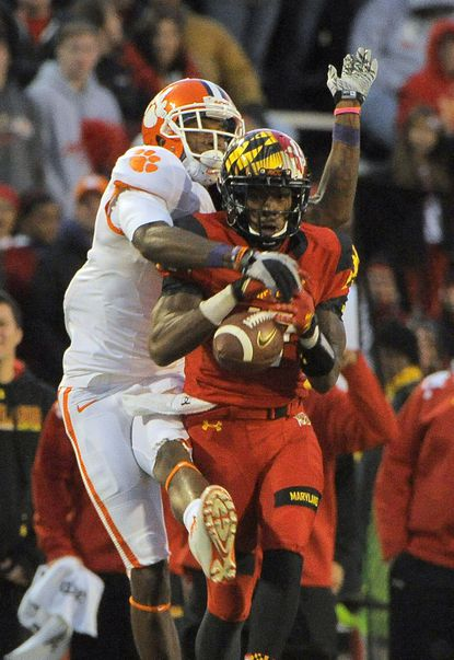 Ravens met with Clemson WR Martavis Bryant at combine, have maintained interest