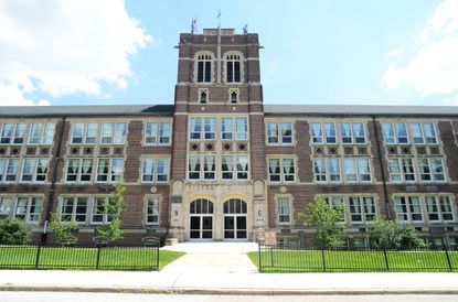 The City Neighbors Charter School in Hamilton, one of the first charters to open up in Baltimore.