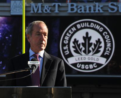 Ravens president Dick Cass, pictured in November 2013, spoke to The Baltimore Sun on Monday.