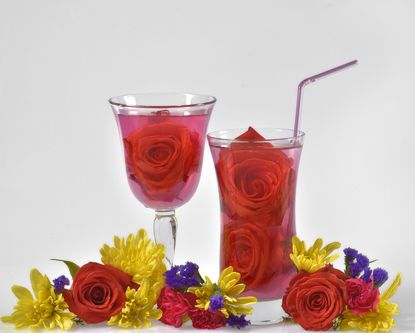 Flower flavors are the latest trend among natural beverages. Makers of teas and waters tout the health benefits of their floral ingredients.
