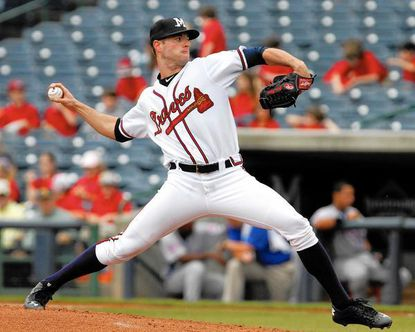 Loch Raven High graduate Greg Ross has been the most consistent starting pitcher the past month for the Mississippi Braves, the Atlanta Braves Double-A affiliate.