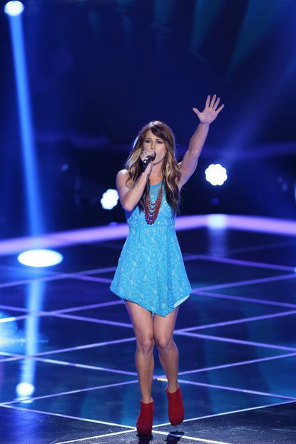 "Cassadee Pope does her thing on ""The Voice."" Ain't no shame in it."
