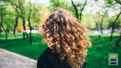 You can massage natural oils like almond oil and argan oil onto the scalp to detangle your curls before shampooing. These oils help promote better hair growth and exfoliate the scalp to get rid of dead skin, product buildup and dandruff.