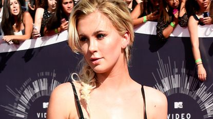 Ireland Baldwin attends the MTV Video Music Awards at the Forum in Inglewood on Aug. 24, 2014.