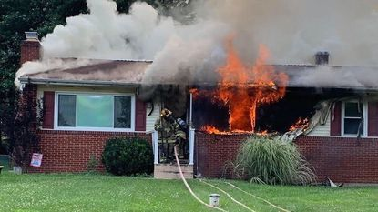 Two pets died and another suffered from smoke inhalation after a house fire Sunday evening on Gladstone Court.