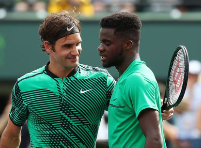 Federer wins second-round match at Key Biscayne against Riverdale teen Tiafoe