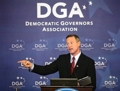 Gov. Martin O'Malley speaks during the Democratic Governors Association luncheon in Washington.