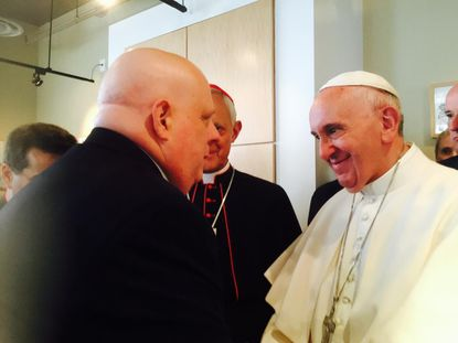 Pope Francis and Gov. Hogan