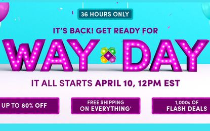 Better-than-Black-Friday deals at Wayfair's Way Day sale on Wednesday