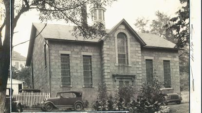 Ellicott City's former jail operated from 1878 until the 1980s. This 1931 photo was taken around the time a man who was arrested for drunken driving had his wife and children spend the night in jail with him.