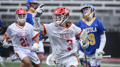 No. 1 Calvert Hall moves within win of first MIAA A lacrosse three-peat