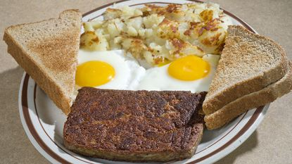 It's not much to look at, but scrapple, the pork product beloved by some, reviled by others but definitely here to stay, is ready for its November surge.