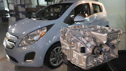 General Motors unveiled in April 2013 an addition at its White Marsh plant that made electric motors for the Chevrolet Spark EV. GM decided late last month to end operations at the Baltimore County facility.
