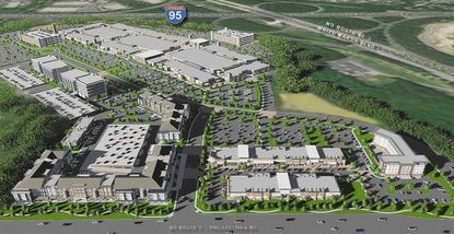 Paragon Outlets rendering