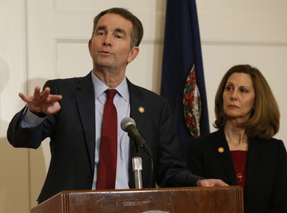 Virginia Gov. Ralph Northam, still isolated, gets space to ponder his fate as Democrats absorb scandals