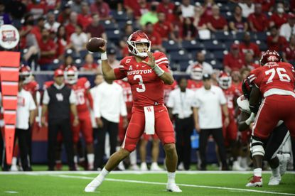 Navy's defense needs to find a way to control talented quarterback Clayton Tune and an explosive Houston offense on Saturday night.