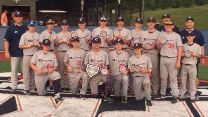 The Central Maryland Cyclones went 4-0 in taking the Armed Forces Day Slugfest tournament title on June 8-9, 2019.