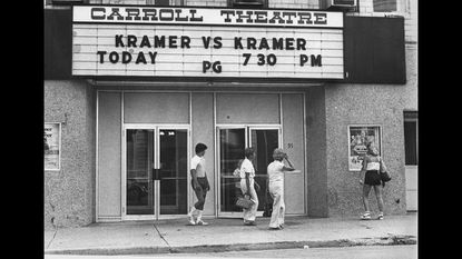 Local move fans come out to the Carroll Theatre in Westminster in 1980 to see the movie Kramer vs. Kramer, which was released on Dec. 19, 1979. The building, at 91 W. Main St., is now the Carroll Arts Center.