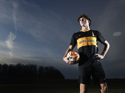South Carroll senior Carter Chesney is the 2019 Carroll County Times Boys Soccer Player of the Year.