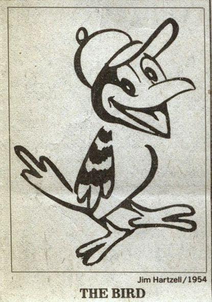 James Hartzell's Oriole Bird 1954.