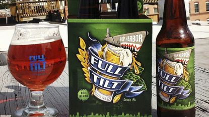 Full Tilt Brewing, which produces Hop Harbor Double IPA, announced it would open its own brewery in Govans.