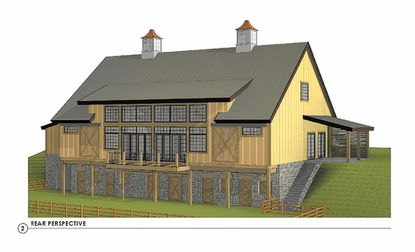 Rear perspective Revised concept plan for the proposed Regent at Stone House wedding venue in Churchville. The owners of a Churchville farm that drew community-wide outrage after they wanted to build a wedding venue are modifying their project.