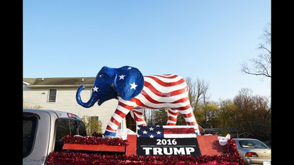 Donald Trump's Victory Office opens in Reisterstown