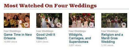TLC's 'Four Weddings' is addictive