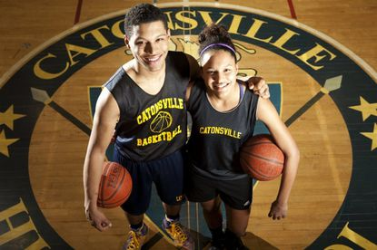 Twins Musa and Maya Wichhart are playing their final prep[ basketball seasons at Catonsville High.