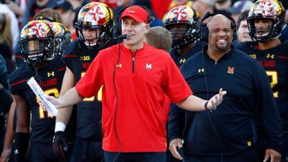 Maryland's Durkin says Big Ten admitted officials blew interference call on muffed punt