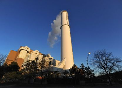 Waste-to-energy incinerator in southern Baltimore