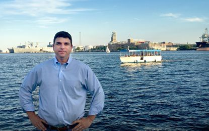 Mike McDaniel, 43, is the president of Harbor Boating Inc., the company that owns the Baltimore Water Taxi. Harbor Boating is expected to be purchased by Under Armour founder Kevin Plank's Sagamore Ventures.