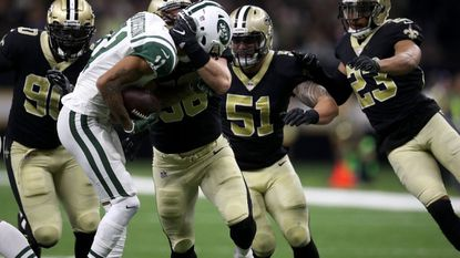 Saints hold on to beat Jets, 31-19, to remain atop NFC South