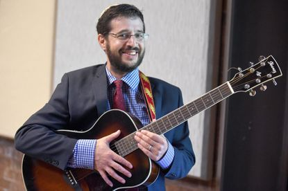 Cantor Benjamin Kintisch is the new cantor at the Columbia Jewish Congregation.