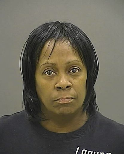 Veronica Alford, 49, is being held on $500,000 bail on charges that she helped her son and another youth conceal the death of Monae Turnage