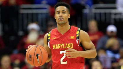Terps point guard Melo Trimble impressed Monmouth coach King Rice.