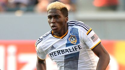 Galaxy forward Gyasi Zardes scored two goals in a victory at the U.S. Open Cup tournament on Wednesday.