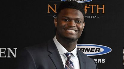Zion Williamson swept all the major player-of-the-year awards this past college basketball season.