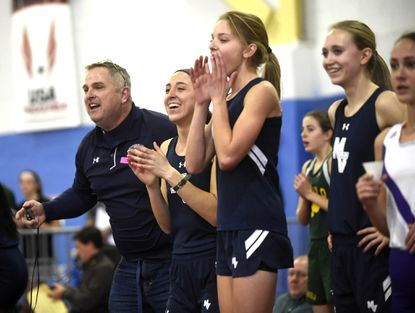 Girls Indoor Track And Field Coach Of The Year: Baumgardner's Strategy, Enthusiasm Leads Mavs