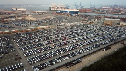 Port of Baltimore sets new monthly auto record in August