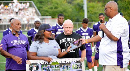 Long Reach football community remembers longtime coach Arthur Hicks