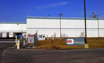 Snack food maker Frito-Lay will build a 164,244 warehouse addition to its plant in Aberdeen and hire an additional 100 employees, company representatives said Monday.