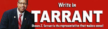 "Shawn Tarrant wanted to be ""the representative that makes sense"" (shawntarrant.com)"