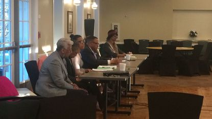 Members of the Democratic Central Committee for the 41st District voted to send two names to Gov. Larry Hogan to fill the seat left by former Baltimore lawmaker Nathaniel T. Oaks.