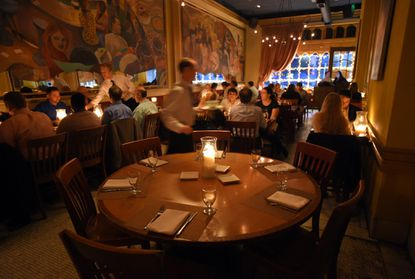 Sotto Sopra has started a new policy that will charge for late cancellations or no shows at the restaurant. (Lloyd Fox/Baltimore Sun)