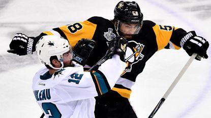 Defensemen are key figures for Penguins and Sharks