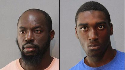 Two men arrested in Elkridge on drug, human trafficking charges